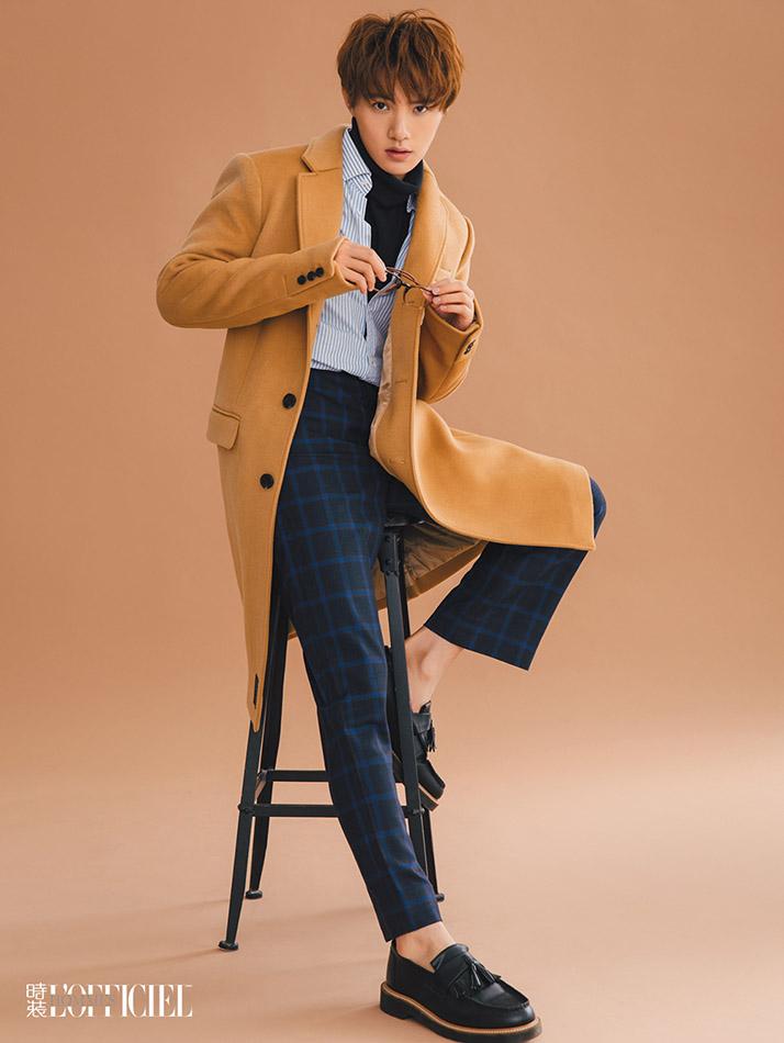 黄圣池《时装男士》大片曝光 英伦风彰显型男魅力