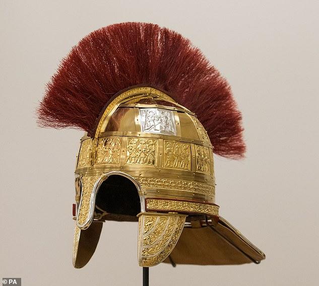 专家重造了1300年前盎格鲁-撒克逊时期将军战盔