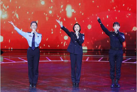 《我要上春晚》新时代警察亮风姿现场婚礼催泪
