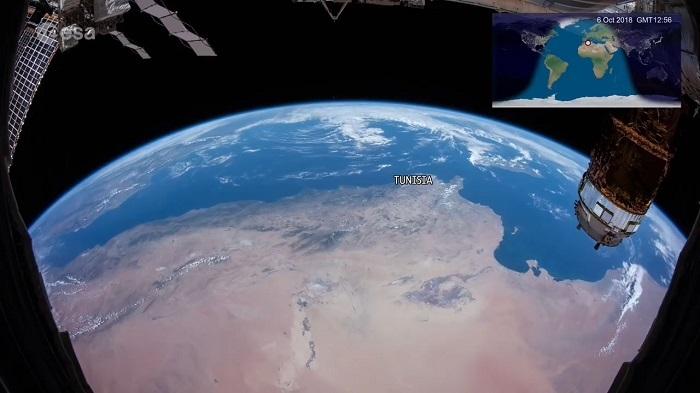 庆祝国际空间站20周年 宇航员发布15分钟延时摄影作品