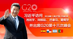 习近平访问西班牙等国并出席G20第十三次峰会