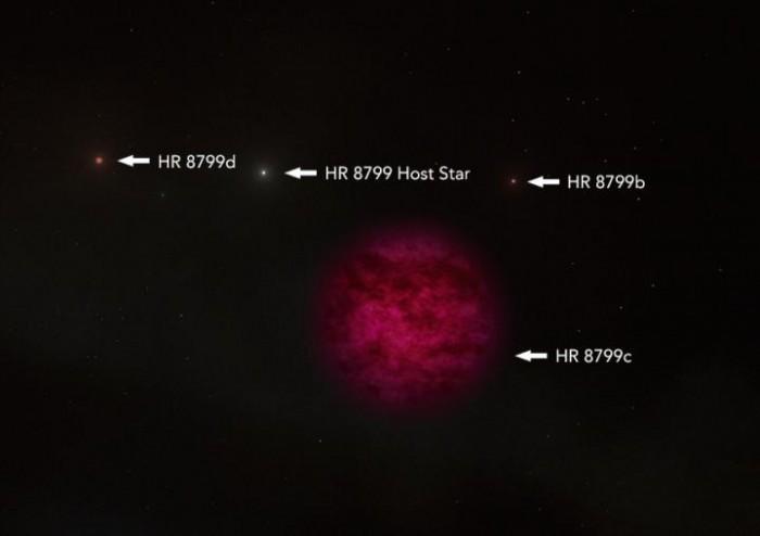 天文学家在一颗系外行星的大气层中探测到水