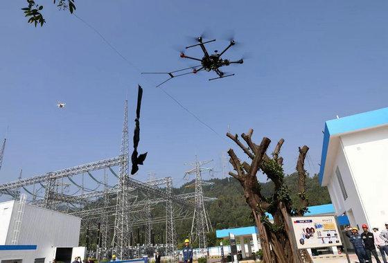 无人机自动驾驶为广东电网护航