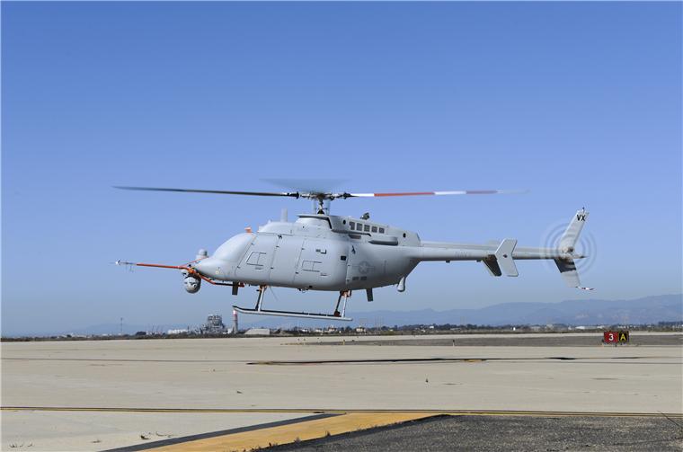 世界上第一种参加过实战的武装无人直升机:MQ-8