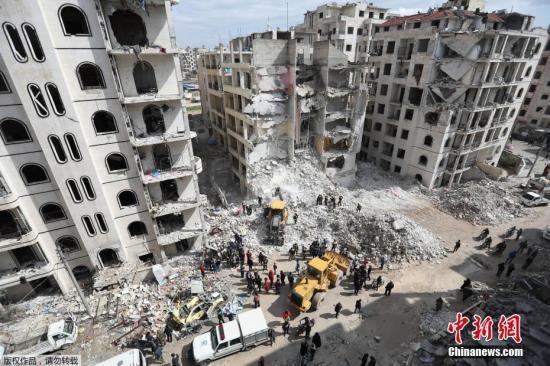 俄称叙反对派制造阿勒颇毒气袭击 炮轰其阵地