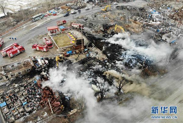 吉林东丰一机械厂爆炸造成2死57伤