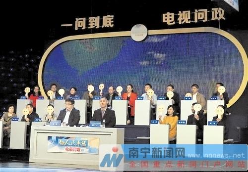 南宁电视问政聚焦依法行政:多处存在非法加油点