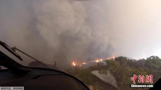 美加州山火致85人死249人失踪 大批居民流离失所