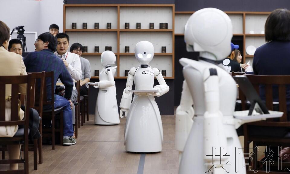 残障者远程操控机器人待客的咖啡馆在日本开业