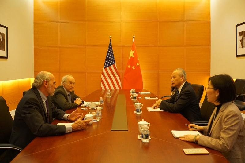 崔天凯接受美媒专访:美国消极动作正在毒化中美整体关系