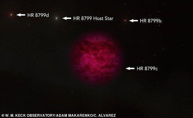 天文学家在距地球179光年行星大气中发现水