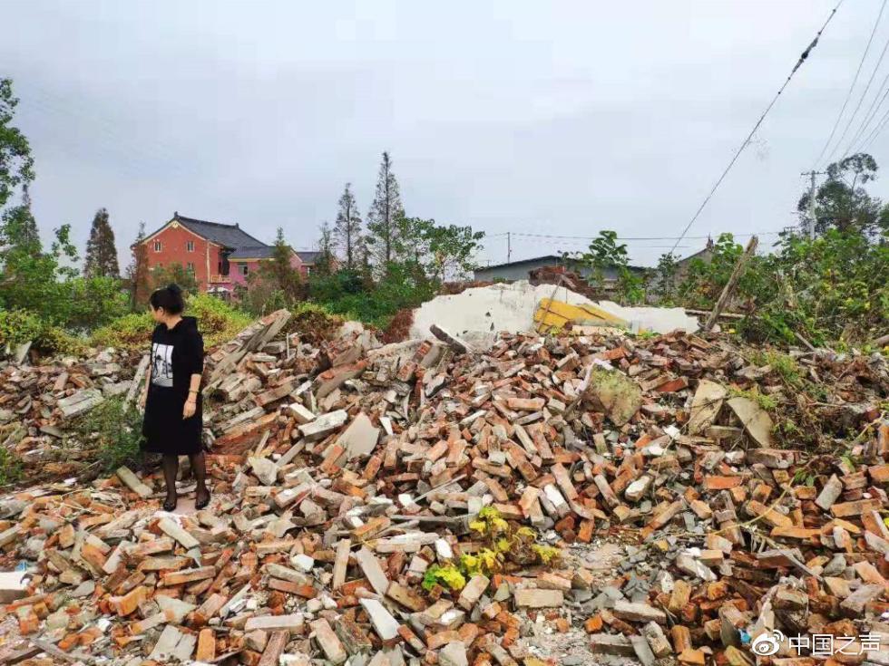 老人去外地看病房屋突遭拆除 至今不知被谁所拆