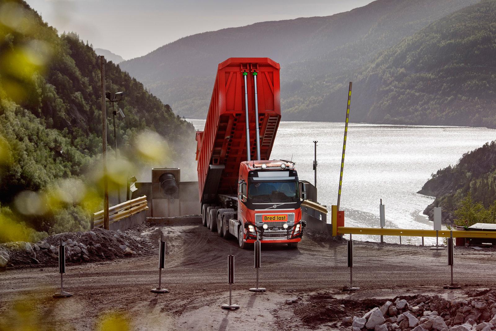 沃尔沃自动驾驶卡车另辟蹊径 在挪威试水煤矿运输