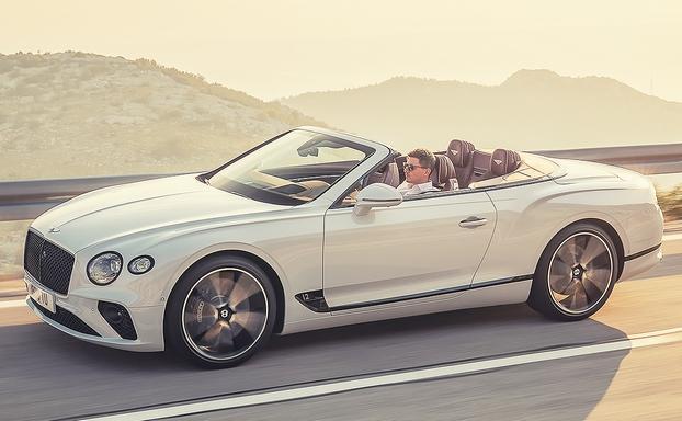 新款宾利欧陆GT敞篷车公布 洛杉矶车展首秀