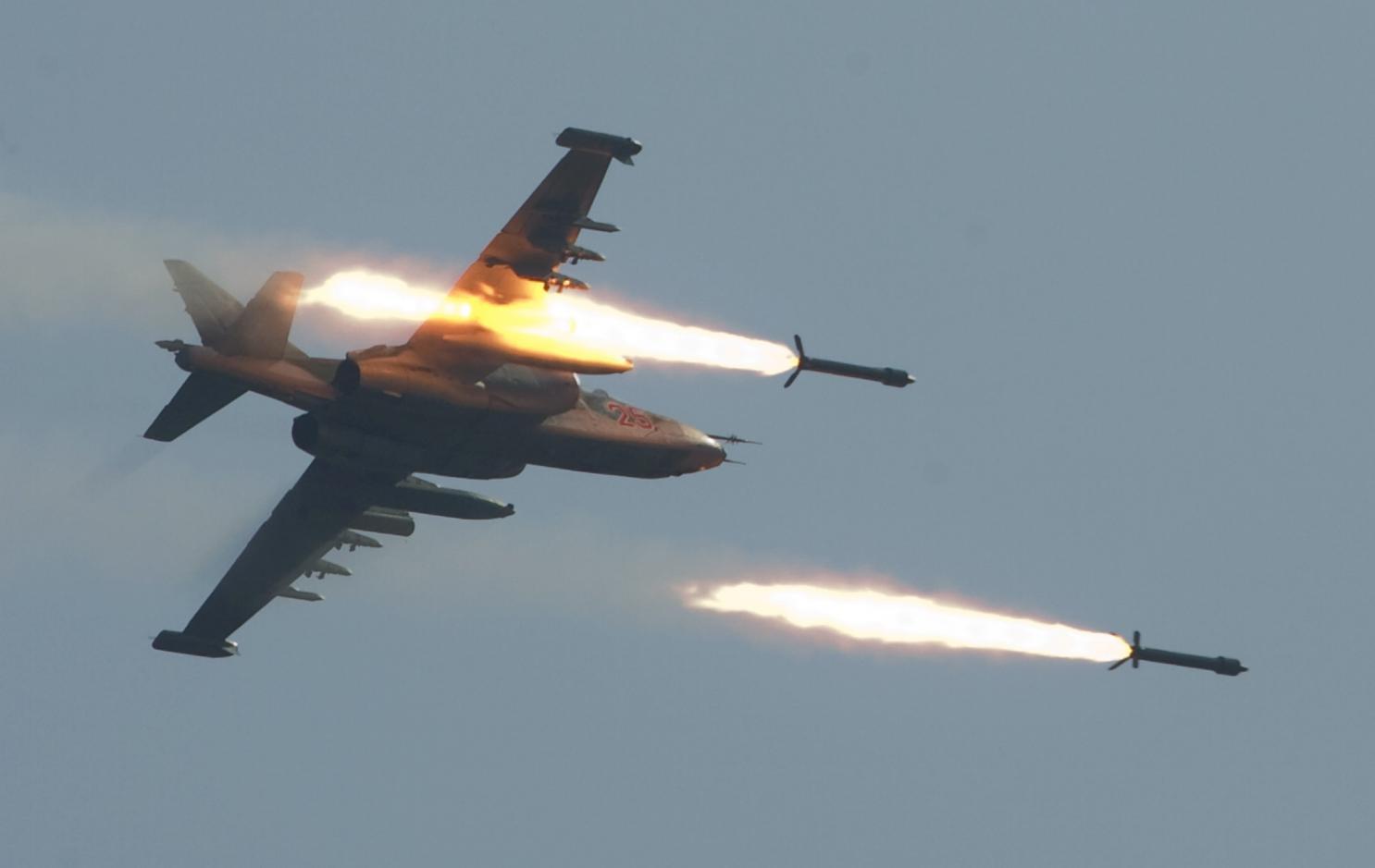 乌称俄苏25战机向乌舰发射导弹 致1人身负重伤