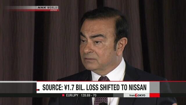 戈恩涉嫌向日产转嫁17亿日元私人损失