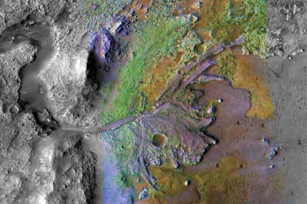 """人类首次洞察火星""""内心"""" 绝美照片一览""""未来家园"""""""