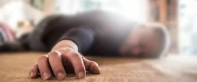 一觉醒来家里地上竟躺着个快断气的人!