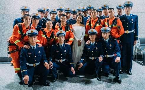 吉克隽逸献声《中国骄傲》  致敬消防英雄