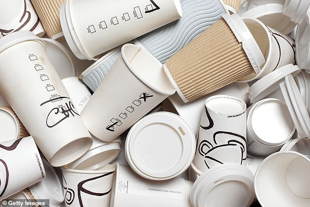 可重复使用咖啡杯出炉 杯底含有芯片可支持付款