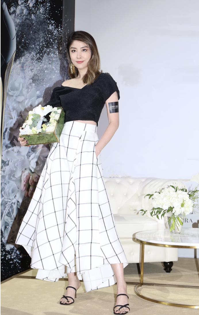 陈慧琳出席纽约时尚品牌发布会  现场开心分享育儿经验
