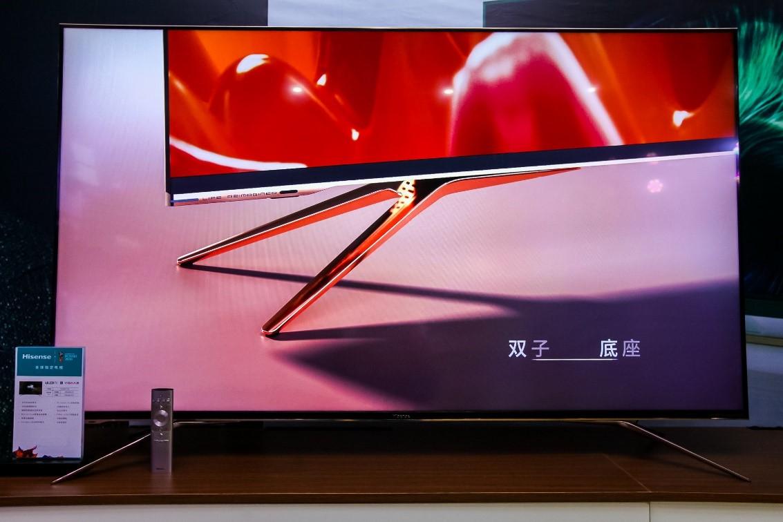激光、U7明星机型助力,海信电视零售量零售额占比双双突破20%