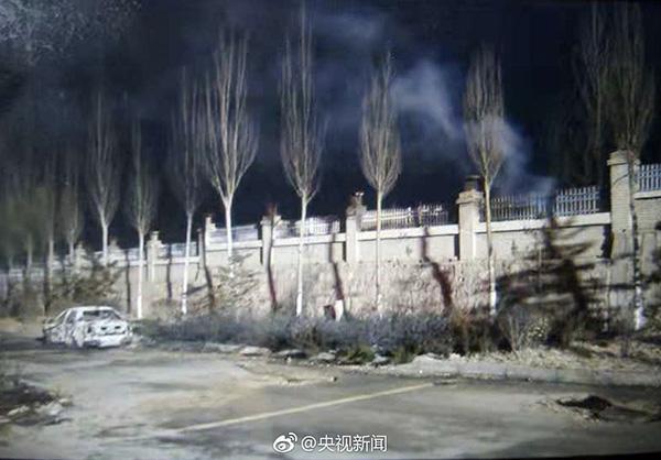 张家口爆炸事发点附近村民:村里已通知尽快转移