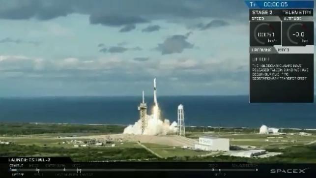 """SpaceX再创历史 首枚""""三手""""猎鹰9将发射并回收"""