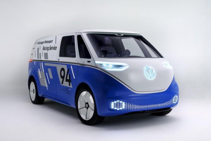 大众将展出为辅助赛车打造的I.D. Buzz Cargo