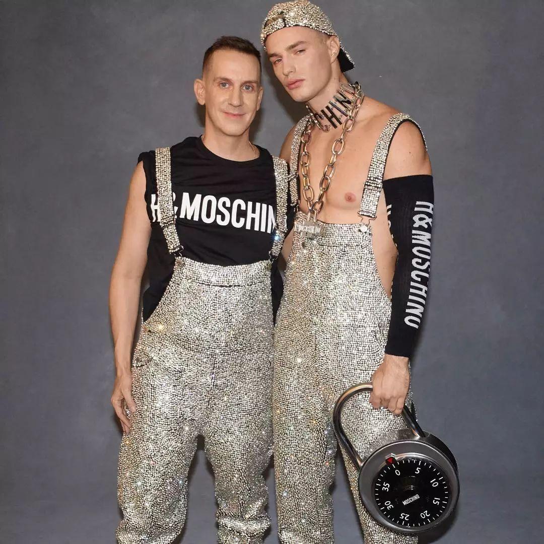 Moschino设计师和Bel Ami家的头牌男模公布关系了!
