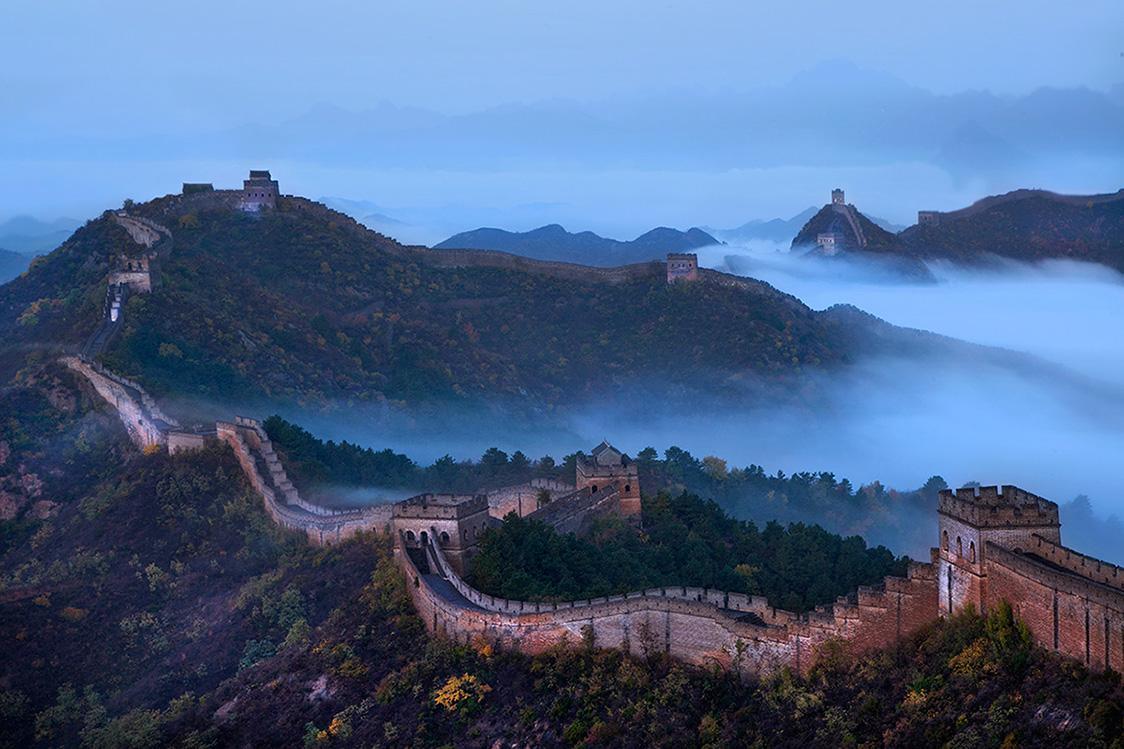 外媒:无人机成为中国保护长城新工具 可进行精确测绘