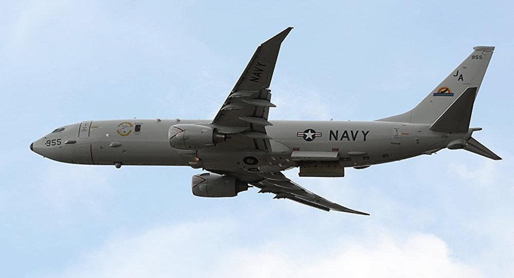 美军接连向克里米亚派出战机 这次出动了P-8A
