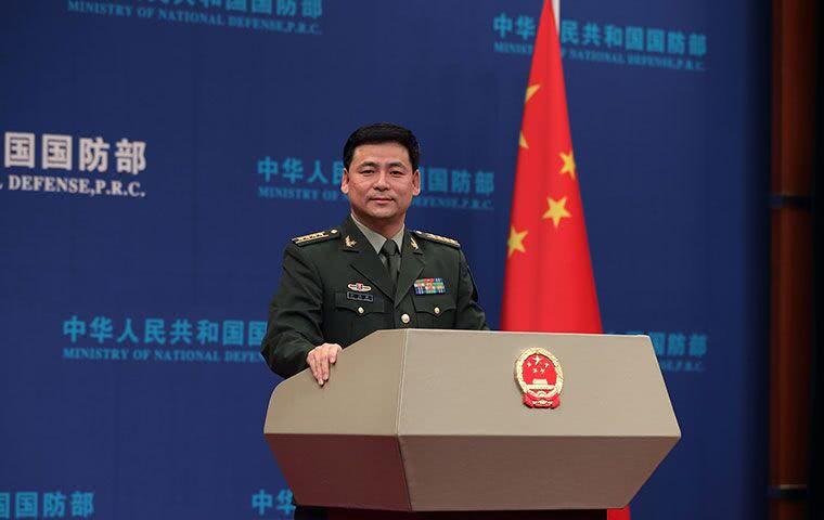关于中国第三艘航母建造报道 国防部这样表态