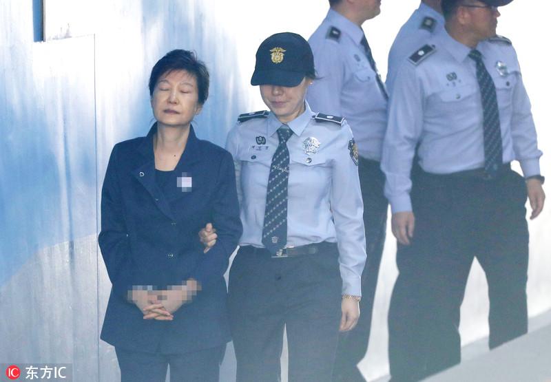 韩媒:朴槿惠两年量刑定了!系首个获得最终确认的量刑