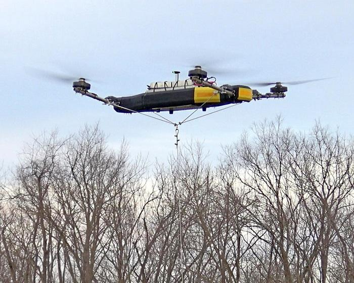 Mobile Recon发布八轴版无人机 载重量超90公斤
