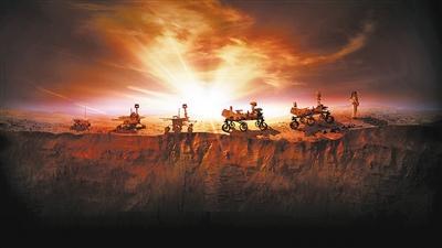 """去火星上""""科考"""" 在哪着陆很重要"""