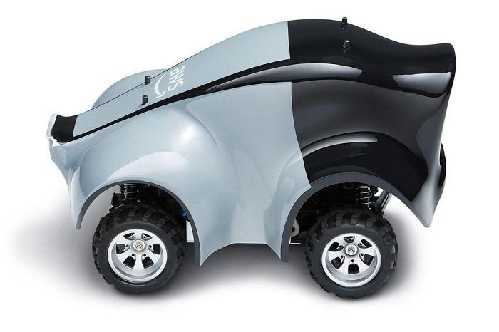 亚马逊推出仅汽车1/8大小的自动驾驶电动车