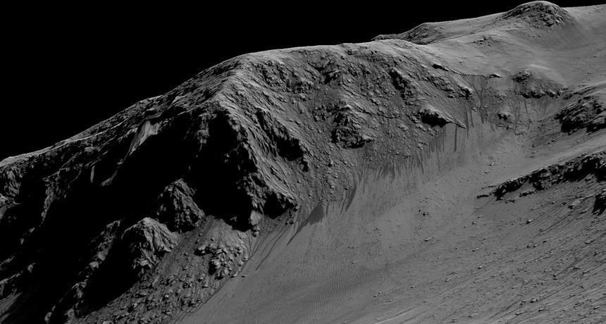 探测器故障或表明火星上某些液态水迹象并非真实