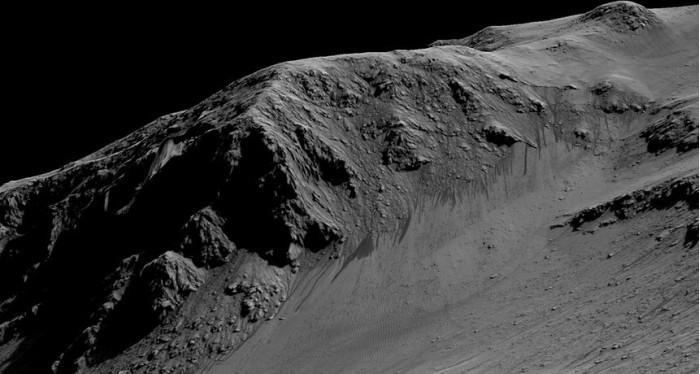 探测器故障或表明火星上的某些液态水迹象非真实