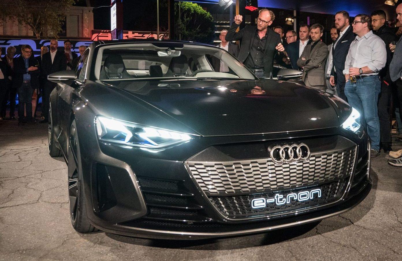 奥迪e-tron GT观点车表态洛杉矶车展 2020年投产