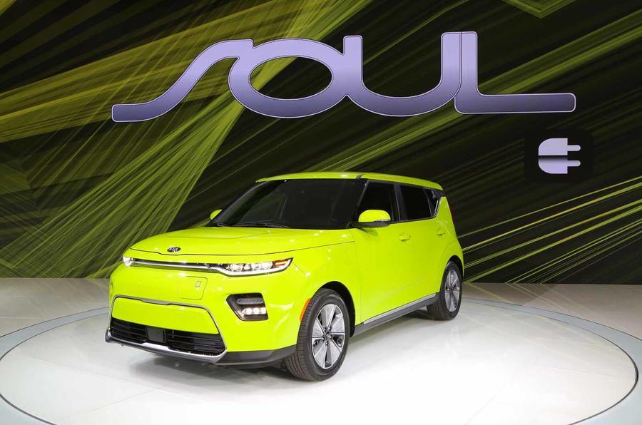 全新起亚秀尔电动车表态洛杉矶车展 技能与动力晋级