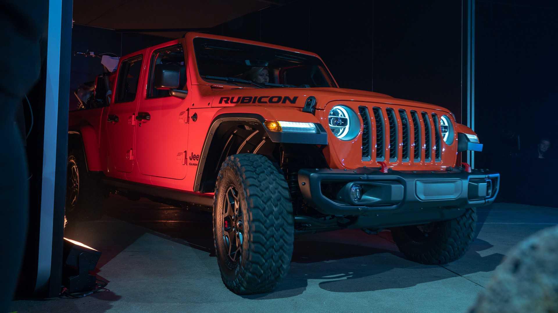 Jeep Gladiator皮卡表态洛杉矶车展 越野与适用性兼备