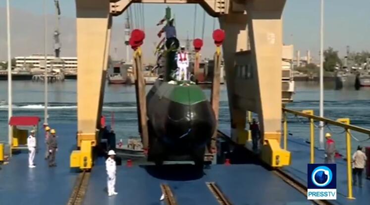 美伊关系紧张之际 伊朗海军舰队再添两艘潜艇