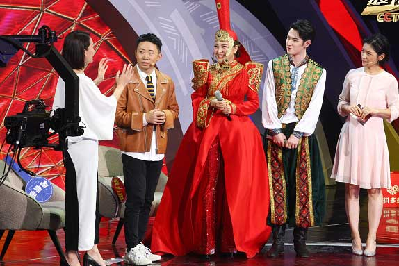 民族风遇见广场舞乌兰图雅王广成组团上春晚