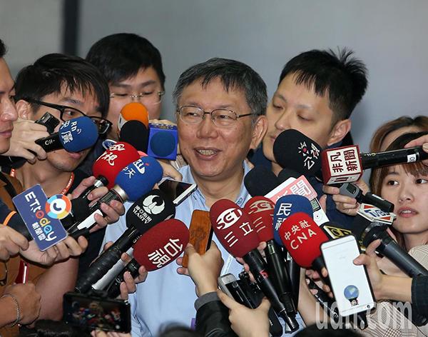 柯文哲:北农总经理要专业、能应付议会的人