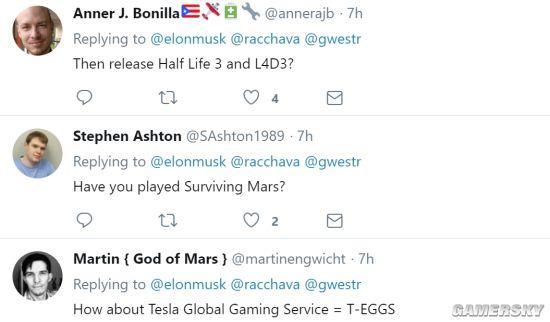 特斯拉汽车可玩游戏 网友:能玩《半条命3》我就买