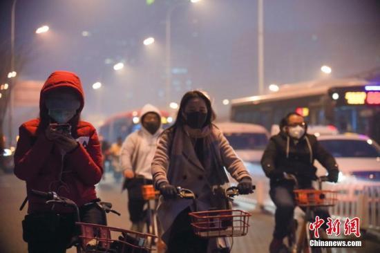 生态环境部:雾霾天根源在于污染物排放总量超标