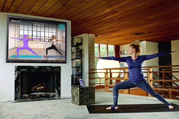 Pivot智能瑜伽服亮相 方便用户在家练习电视课程