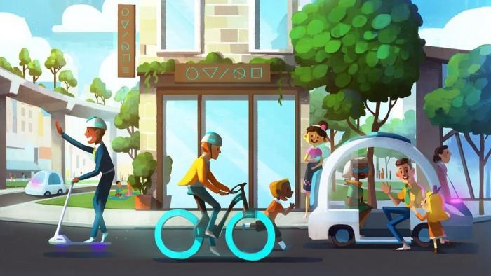 Lyft收购Motivate后 推出全新设计共享单车