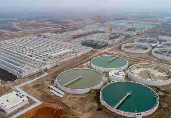 武汉北湖污水处理厂主体工程基本完工
